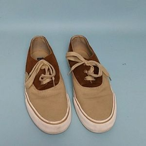 Ralph Lauren Polo Canvas/Suede/Leather Sneakers